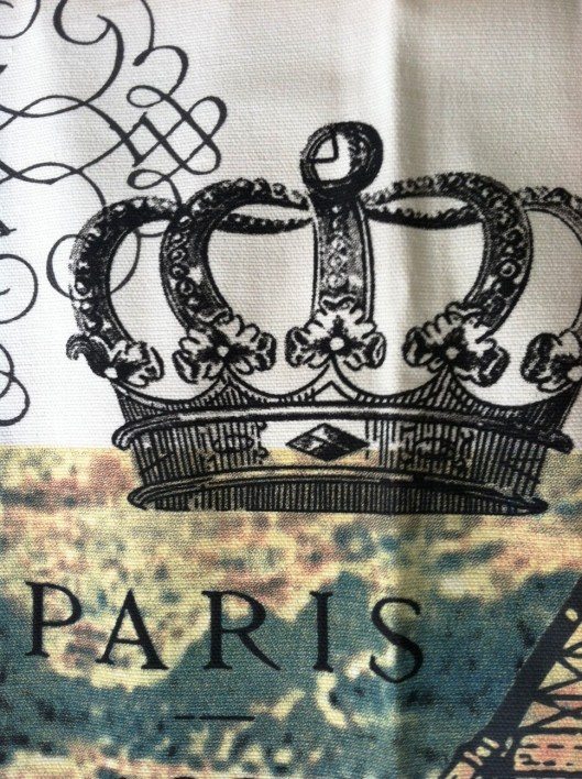 paris towel -crown only